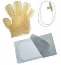 TRAY SUCTION CATH 8FR W/CUP & GLOVES (50/CS)