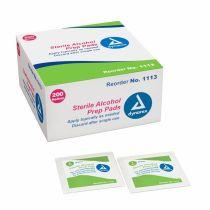 ALCOHOL PREP PAD MD ST (200/BX 10BX/CS)