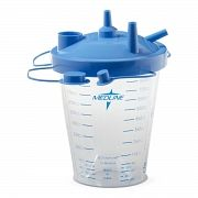 CANISTER SUCTION 850CC W/FLOAT LID (12/C